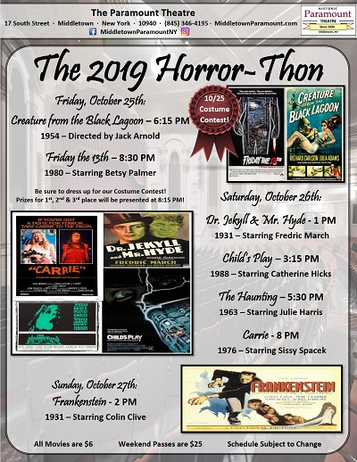 The 2019 Horror-Thon